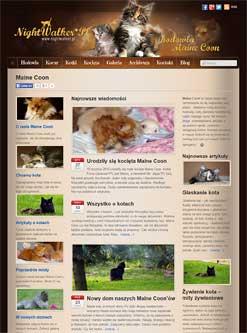 Gnieźnieńska  hodowla kotow rasy Maine Coon